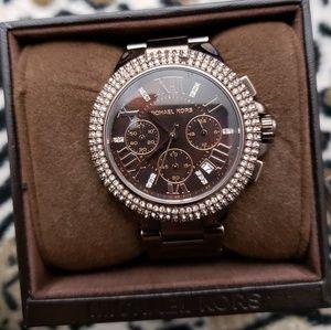 Chocolate Michael Kors watch